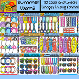 Summer Items Bundle - 12 Sets in 1 - #132 Items (Daily Dea