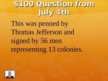Summer Jeopardy!
