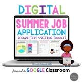 Summer Job Application & Descriptive Writing Toolkit for G