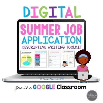 Summer Job Application & Descriptive Writing Toolkit for G