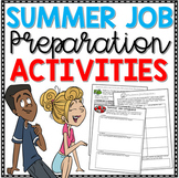 End of Year Writing - Summer Job Preparation Activities (C