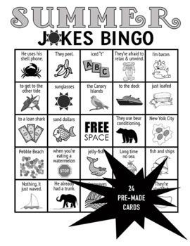 Summer Jokes PPT