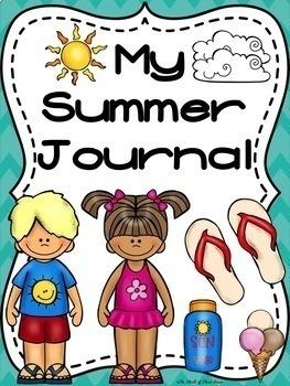 Summer Journal-Choices of Templates-Summer Lists-Bucket List/Books/Trips/Foods