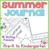 Summer Journal(Cover & Journal Writing Pages)