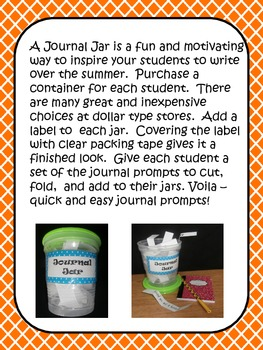 Summer Journal Jar