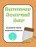 Summer Journal Jar