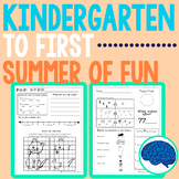 Summer Packet | Kindergarten entering Grade 1