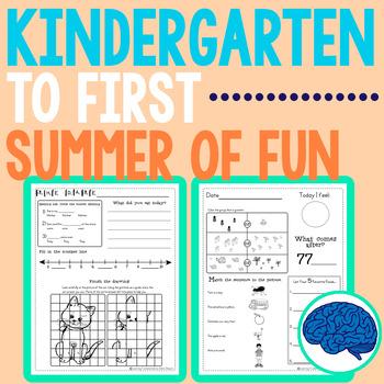 Summer Packet | Kindergarten entering Grade 1