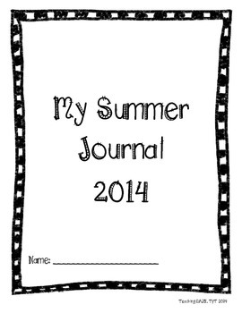Summer Journal Picture Book