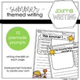 Summer Journal Writing Packet