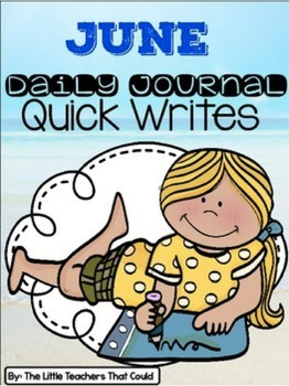 Summer Journal Quick Writes