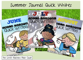 Summer Journal Quick Writes
