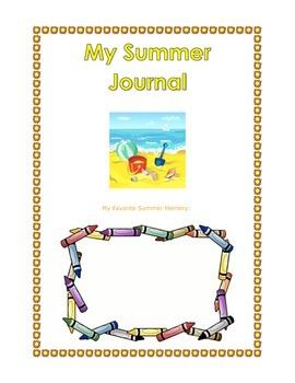 Summer Journal Scrapbook