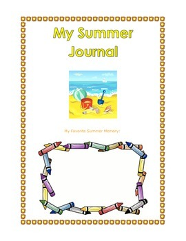 Summer Journal Scrapbook
