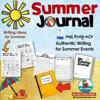 Summer Journal | Summer Assignment | Summer Writing Topics