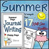 Summer Writing Journal Activities: 1st Grade 2nd Grade: Su