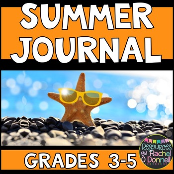 Free Summer Journal Writing Prompts Grade 3 - 5