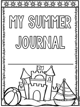 how to write a summer reading journal