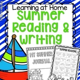 Summer Reading and Writing Pack for Preschool, Pre-K, and Kindergarten