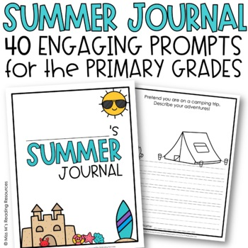 Summer Journal with 30 Prompts {EDITABLE}
