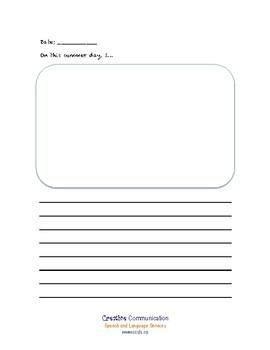 Summer Journaling