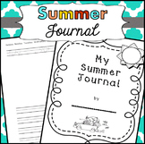 Summer Journals kindergarten, first grade summer packets