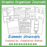 Summer Journals with Graphic Organizer Supports