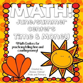 Time and Money Math Centers Bundle!