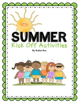 Summer Literacy Activities ***Special Limited Price
