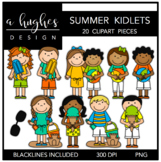 Summer Kidlets {Graphics for Commercial Use}