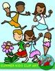 Summer Kids Activities Clip art