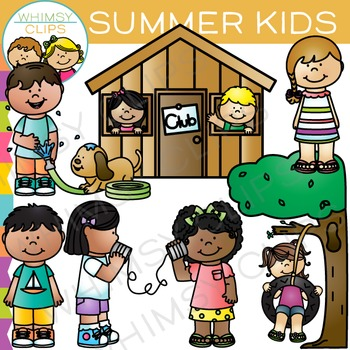Kids Summer Clip Art