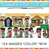 Kids Summer Clip Art