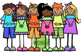 Summer Kids Clipart -MadeForSecondGrade
