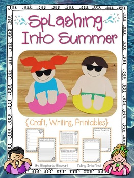 Summer Kids {craftivity}