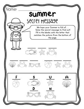 Summer Activities