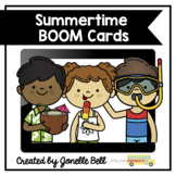 Summer Kindergarten Boom Cards Bundle