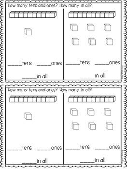 Summer Kindergarten Math Journals
