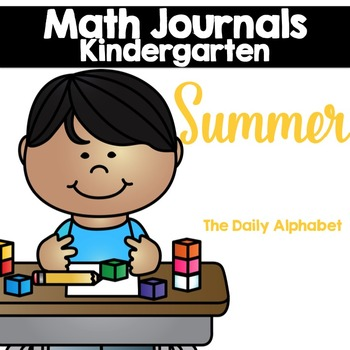 Summer Kindergarten Math Journals