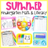 Summer Kindergarten Work Tubs & Centers | Summer School & Review | Montessori