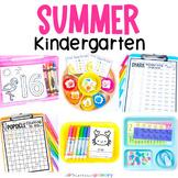 Summer Kindergarten Math & Literacy Pack
