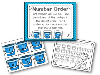 Summer Kindergarten Math and Literacy Activities
