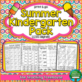 Summer Kindergarten Pack ~ Print & Go, No Prep ~ CCSS Aligned