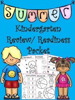 Summer Kindergarten Packet