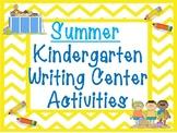 Summer Kindergarten Writing Activities