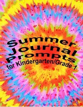 Summer Kindergarten/ first grade writing journal (writing prompts)