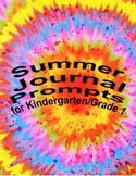 Summer Kindergarten/ first grade writing journal (writing