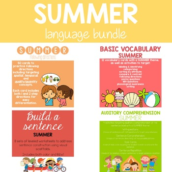 Summer Language Bundle