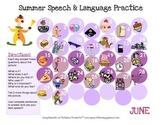 Summer Language Calendars