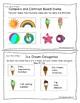 Summer Language Homework Mini Book
